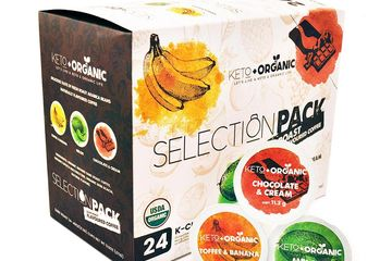 DARK ROAST FLAVORED COFFEE | USDA CERTIFIED SINGLE SERVE PODS COMPATIBLE WITH ALL K-CUP™ BREWERS,