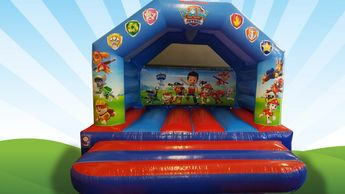Paw Patrol Bouncy Castle Hire Plymouth
