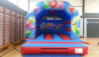 Smiley Face Bouncy Castle Hire Plymouth