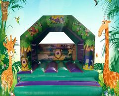 Jungle Bouncy Castle Hire Plymouth