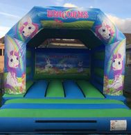 UNICORN BOUNCY CASTLE HIRE PLYMOUTH