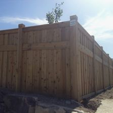 cedar fence, privacy fence, natural wood