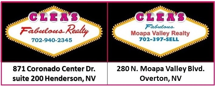 Clea's Moapa Valley Realty and Clea's Fabulous Realty