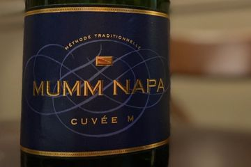 Mumm Napa Cuvée M Wine Label