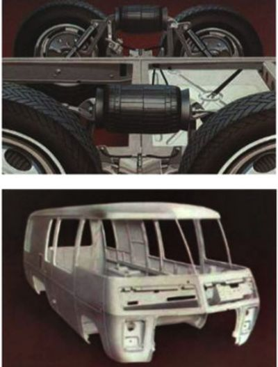 GMC motorhome suspension