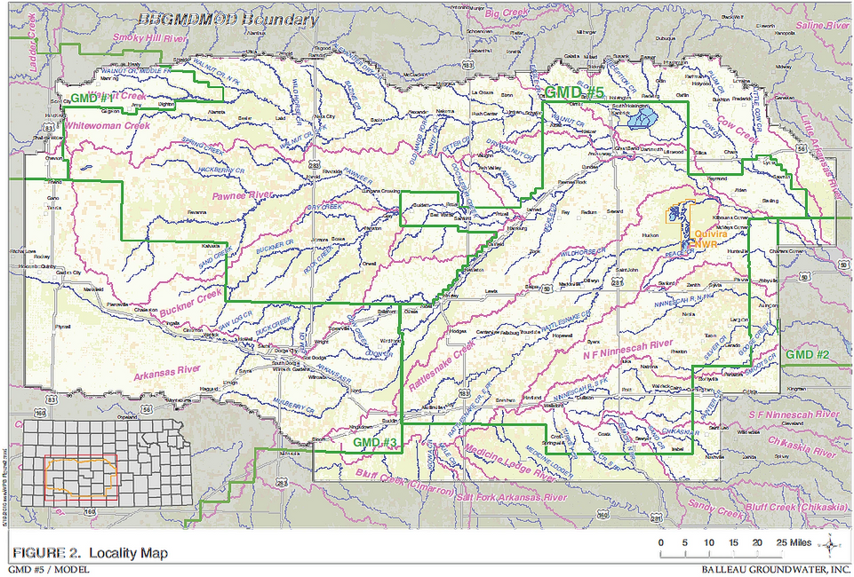 Overview of District Hydrologic Model Boundary