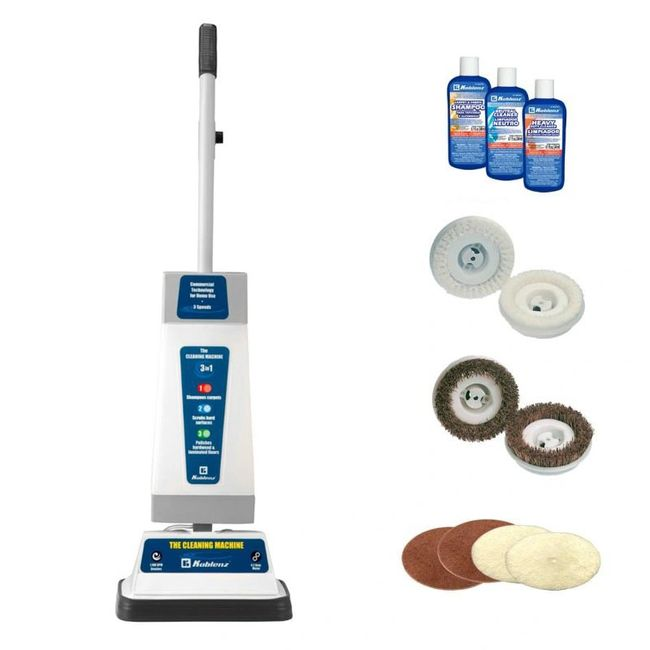 Koblenz Carpet Scrubber and Floor Polisher Professional Rug Shampooer Buffing Pads