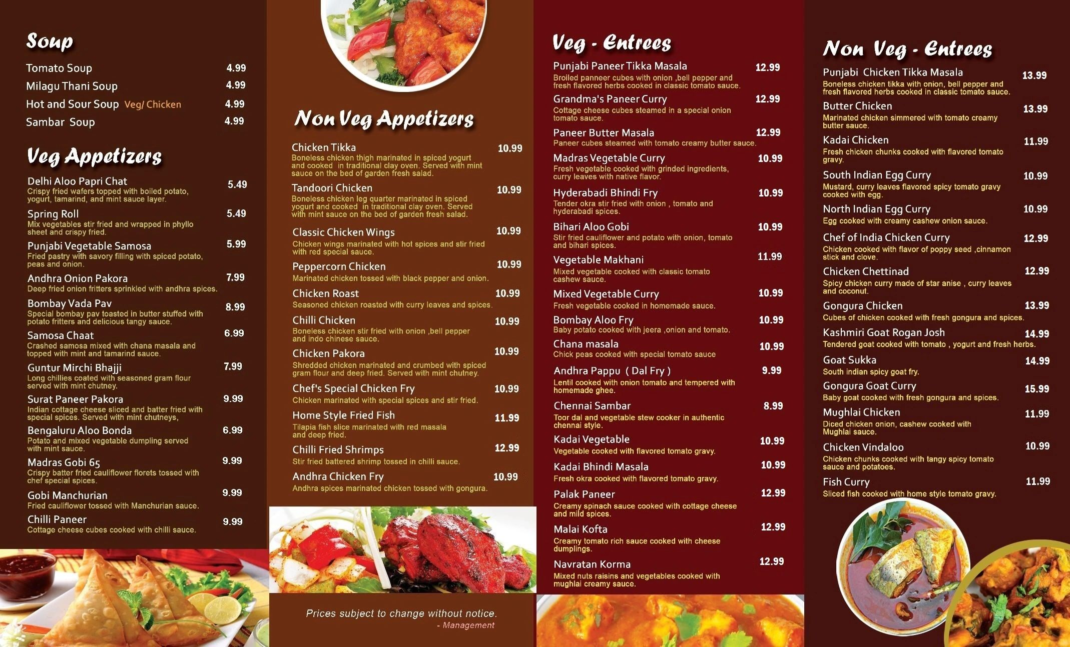 Chef of India - Indian Food, Food Delivery