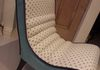 TV/Bedroom chair, re-upholstered