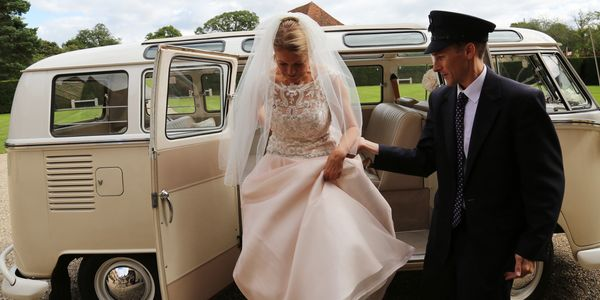 Ivory fingertip veil with decorative edging  made by Susie Grist Couture