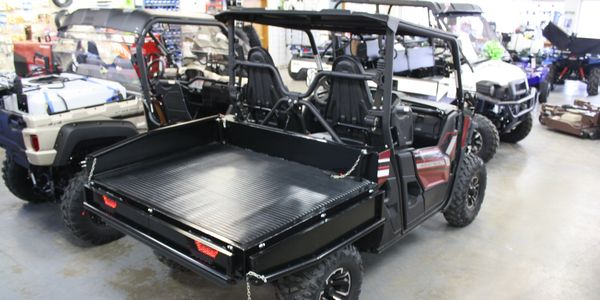 SUPERIOR by Superior Industries Ranch Edition utility bed on a Yamaha Wolverine X2 UTV.