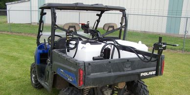 Superior Industries LP60-BB Sprayers fit Polaris Rangers