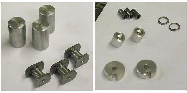 Some examples of our model locomotive precision-made parts.