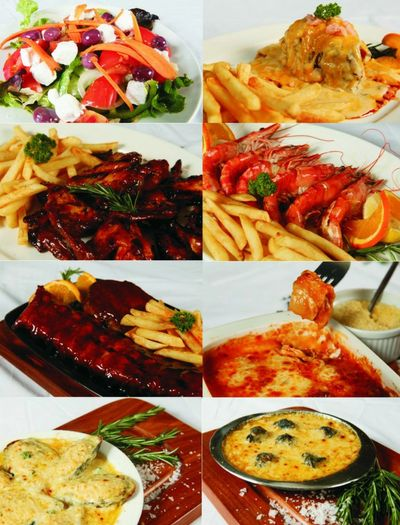 Our delicious meals at The Porterhouse Family Restaurant & Steakhouse.