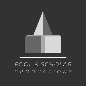 Fool and Scholar Poductions logo.