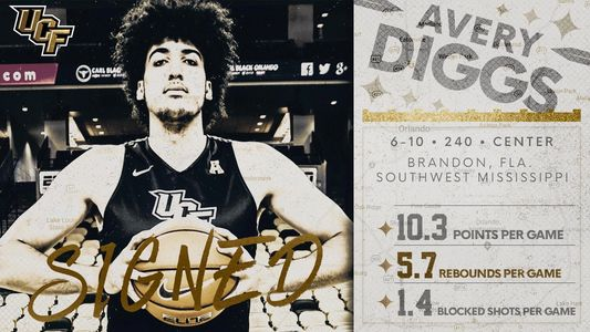 Avery Diggs - Pro Holmes Sports post graduate basketball  Alumni signs with UCF.