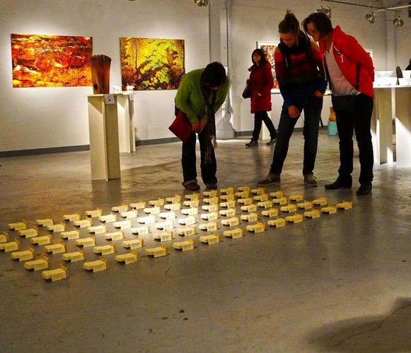 VCU clay exhibit at Gallery 218 Milwaukee