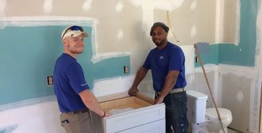 "Your delivery team for ""CABINETRY DONE DIFFERENTLY"" at Creekside Cabinets of New Bern, NC."
