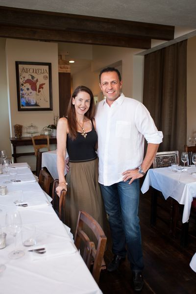Owners of Italian restaurant in Salt Lake City, Amy and Marco Stevanoni