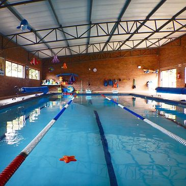 Ouer Indoor Heated Pool is a salt water pool at a constant 32 degrees ideal for learning to swim