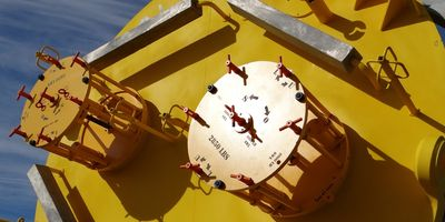 Premium Solutions Vent Valves (Hatch Valves) on subsea suction pile