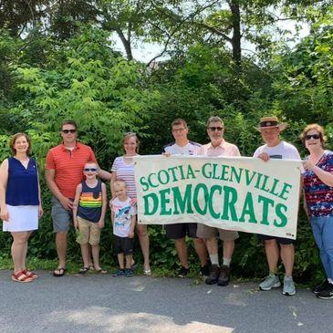 Scotia-Glenville Democrats at Alplaus 4th of July Parade