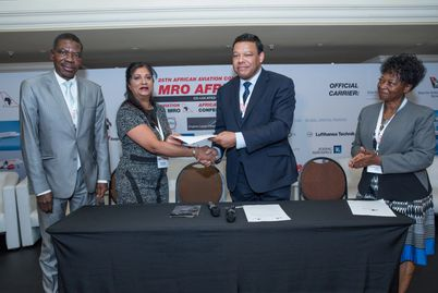 Signing Ceremony between AATO and African Aviation - March, 2017.