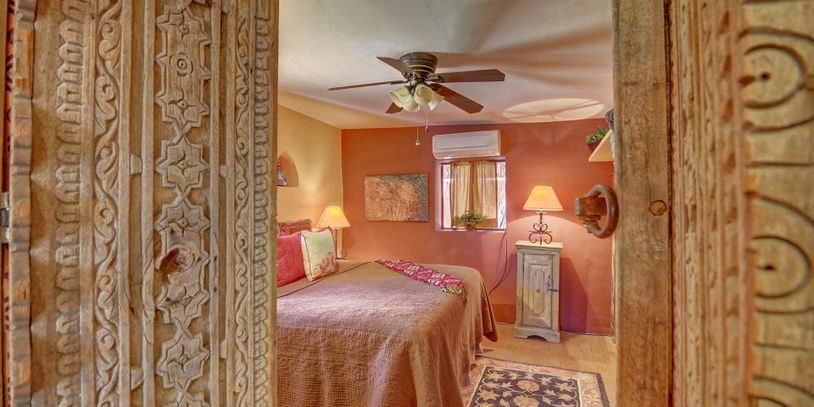 Santa Fe doorway - real estate photography