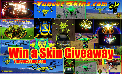 "Yuneec Skins - ""Win a Skin"" Giveaway Contest - Register for an Account to Enter YuneecSkins.com"