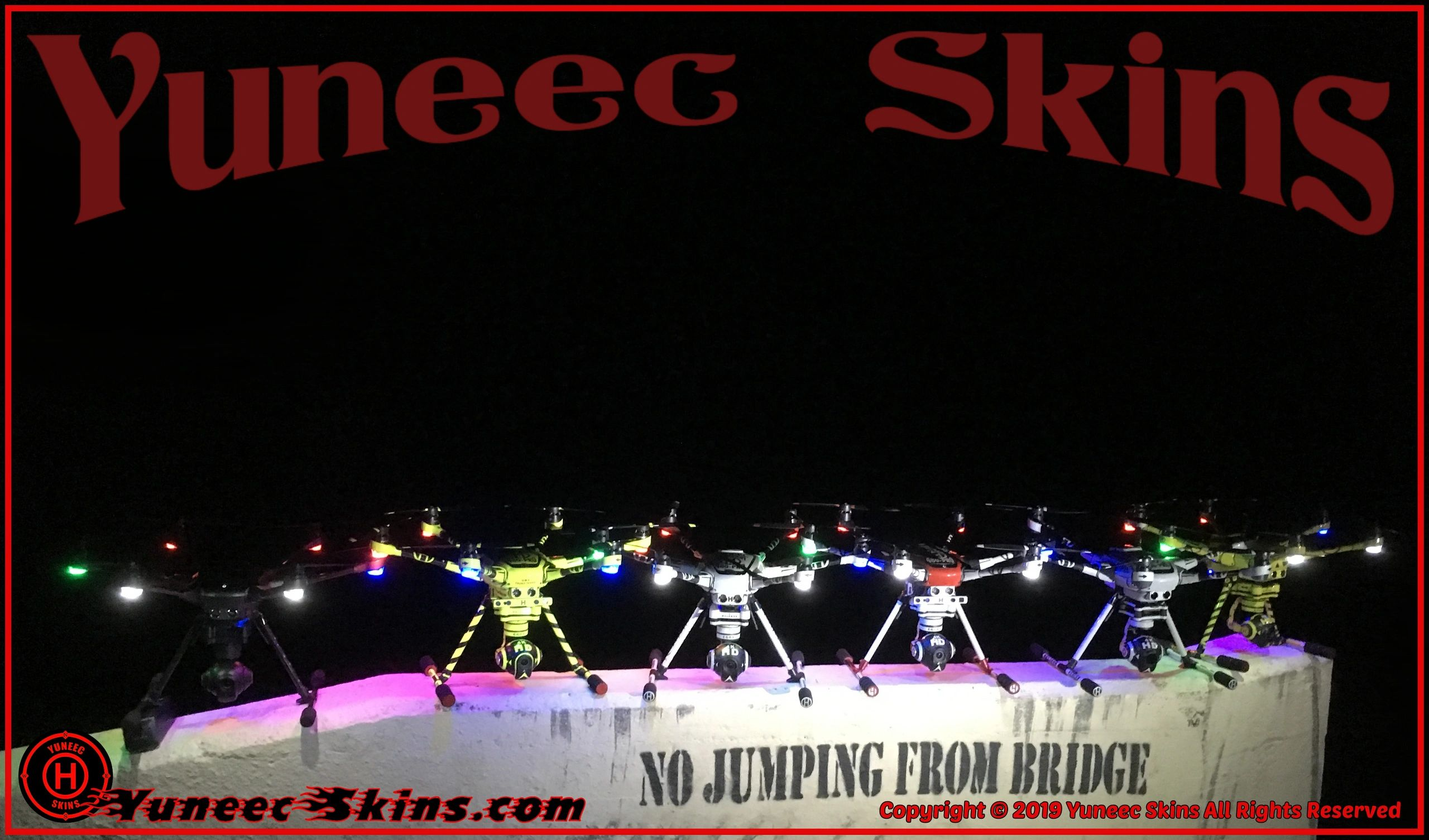 Yuneec Skins-Vinyl Decal Supplier, Vinyl Skins, Wraps, Decals & Graphics, Made to Order in the USA