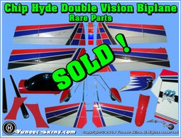 Chip Hyde Double Vision Biplane Parts