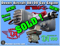 Desert Aircraft DA-100 Gas Engine