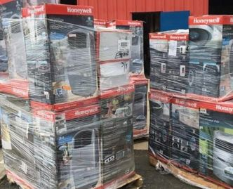Appliances, pallet, games, books, electronics, returns,