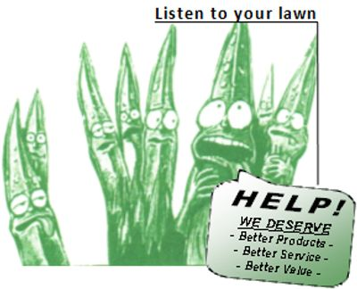 Make your lawn look great call Aaron's Greenscape in northern Illinois
