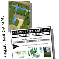 Aerial Measurement then we send a Instant Lawn estimate in hours to your Email, Fax, or Mail in IL