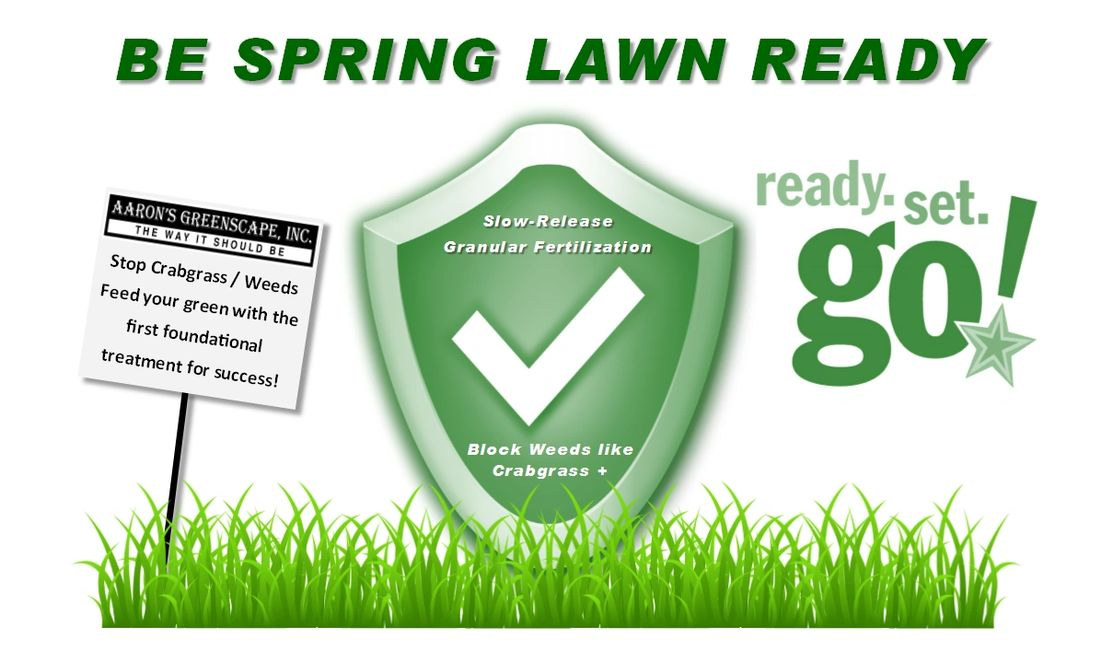 Be spring lawn ready | Stop Crabgrass & weeds + feed your green in Northern Illinois this spring
