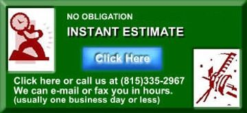No obligation Instant Lawn care estimate