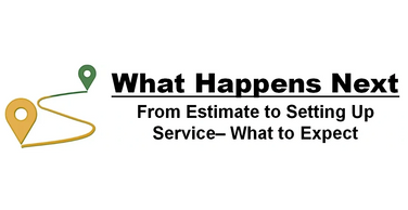 What happens next -From estimate to setting up service in our Northern Illinois service territory