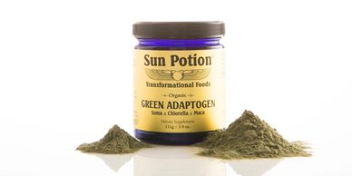 Sun Potion Green Adaptogen Powder
