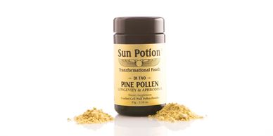Sun Potion Mason Pine Pollen (Wildcrafted)