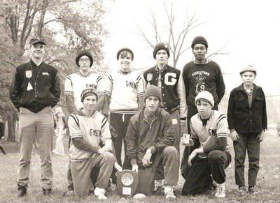 1970 Georgetown Cross Country state runner-up team