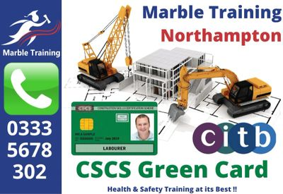 CSCS Northampton CSCS Courses Northampton CSCS Green Card Courses Northampton CSCS Card Courses