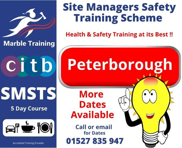 SMSTS Peterborough