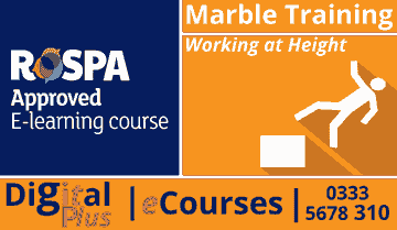 Working at height Course  CITB eCourses Online Courses  Marble  Marble Training eCourses