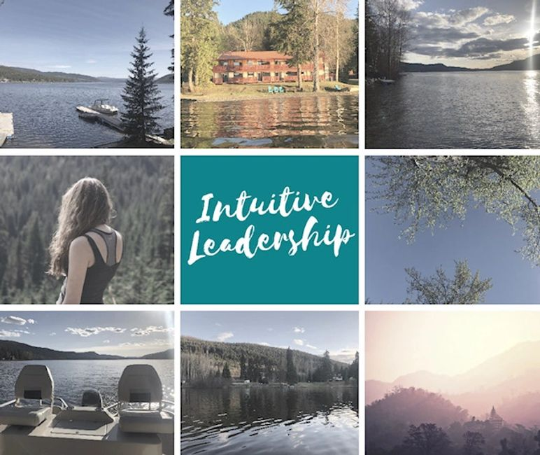 Intuitive Leadership Retreat at South Point Resort on Canim Lake, BC. September 2019.