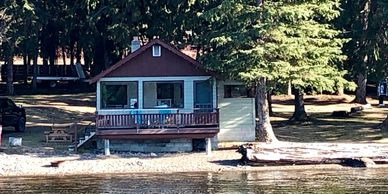Cabin Rentals at South Point Resort on Canim Lake, BC