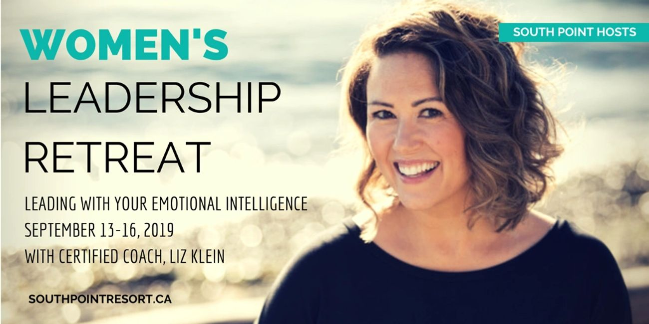 Women's Leadership Retreat at south Point Resort. Facilitated by Certified coach, Liz Klein.