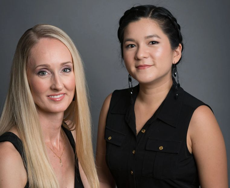 The Makeup Ladies Ashley & Maria Experienced Makeup artists & hairstylists based in Brisbane