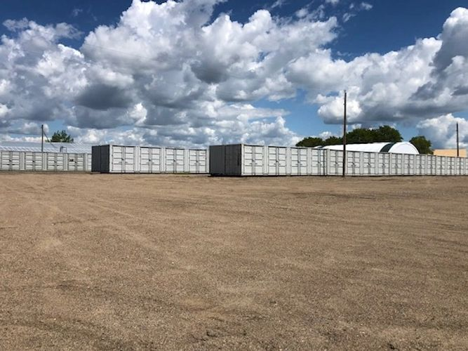 New these 85 storage units are filling up fast. Mostly 10x8 with double side doors for  access