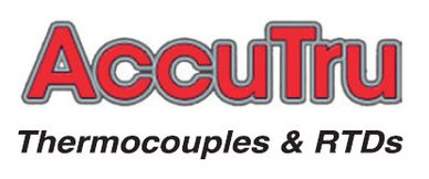 AccuTru thermocouples and RTDs instrumentation controls process industry